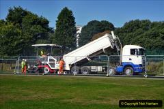2020-09-17 Poole Park road work, Poole, Dorset. (2) 008