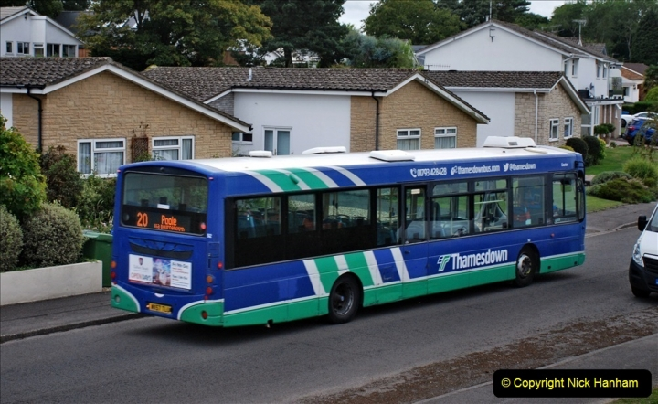 2020-09-16 Route 20 Poole, Dorset. (4) Various buses. 074