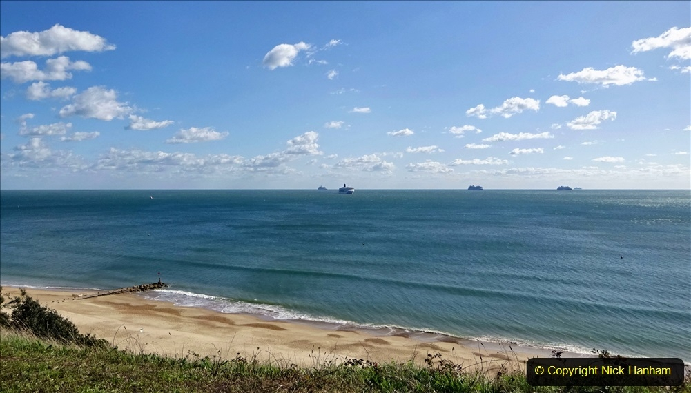2020 September 25 and 26 Poole Bay Cruise Ships