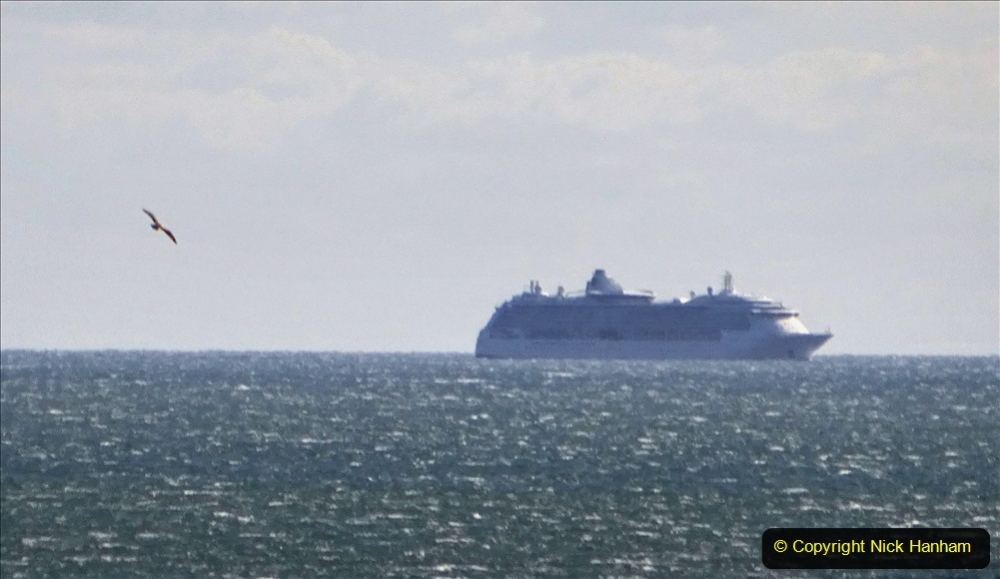 2020-09-25 Poole Bay. (2) Jewell of the Seas. 2