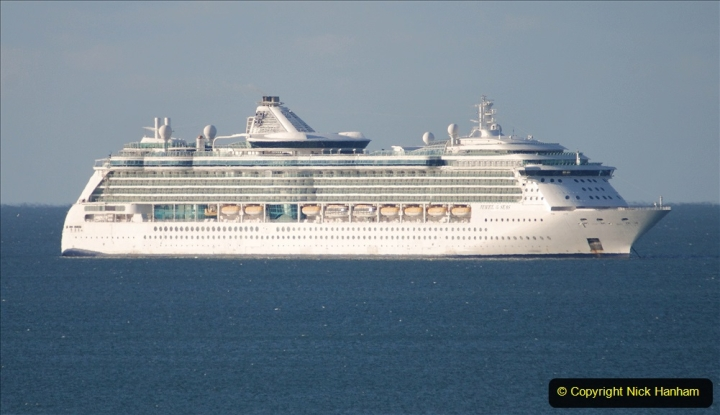 2020-09-26 Poole Bay. (11) Jewell of the Seas. 21