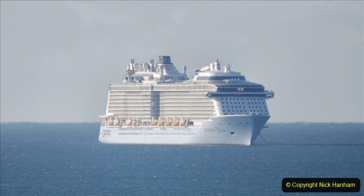 2020-09-26 Poole Bay. (15) Anthem of the Seas. 25