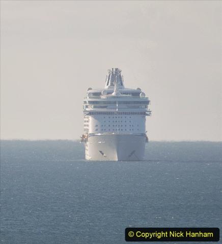 2020-09-26 Poole Bay. (3) Allure of the Seas. 13