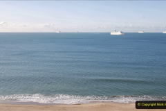 2020-09-26 Poole Bay. (1) I saw 6 ships come sailing in.11