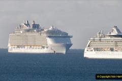 2020-09-26 Poole Bay. (6) Allure of the Seas. 16