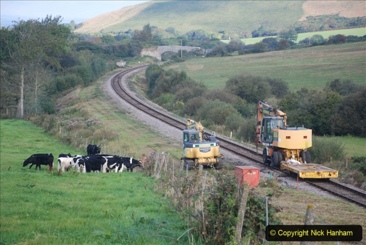 2020-09-29 SR Stone Blowing and Trackside Clearance. (159) 159