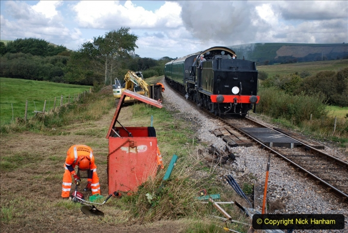 2020-09-29 SR Stone Blowing and Trackside Clearance. (229) 229