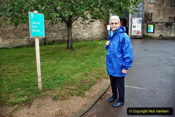 2020-09-30 Covid 19  Visit to Lacock, Wiltshire. (71) A big que. 071