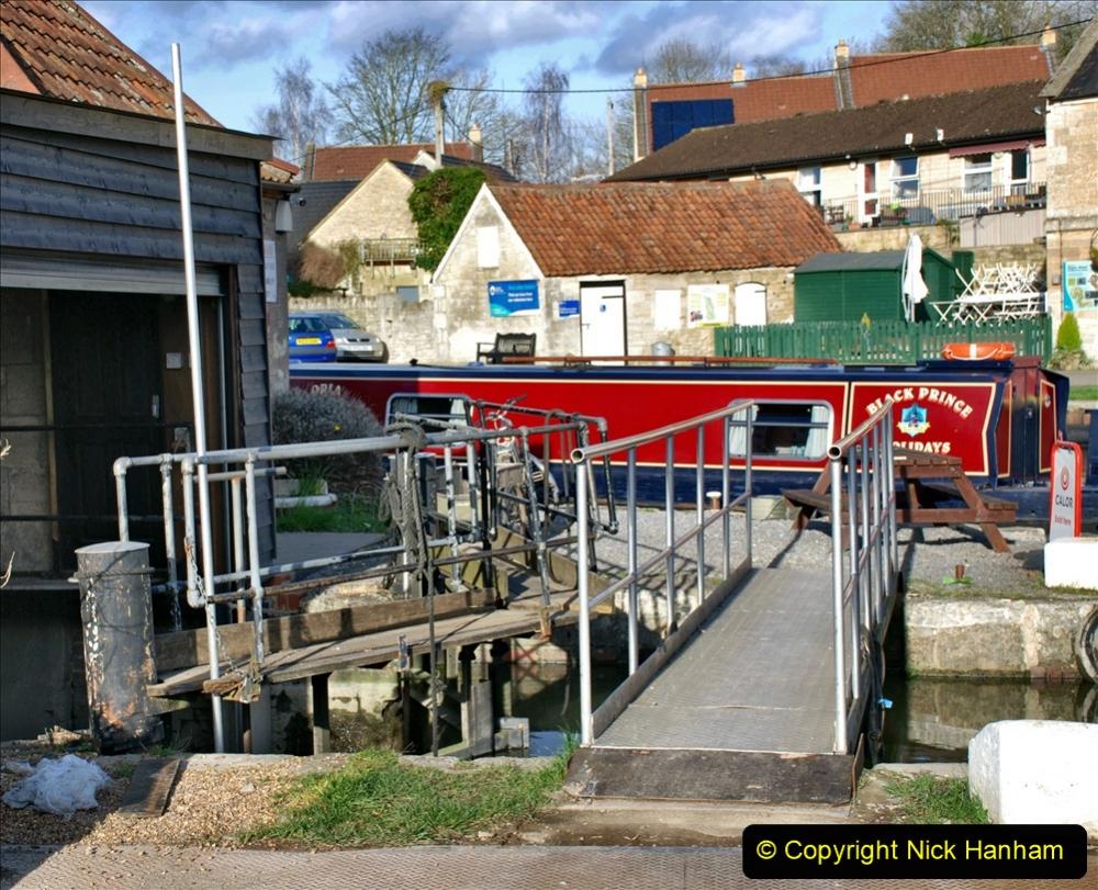 2020 02 26 The Kennet & Avon Canal Bradford on  Avon Wiltshire (13) 020