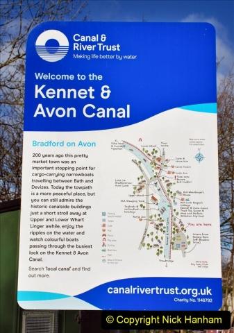 2020 02 26 The Kennet & Avon Canal Bradford on  Avon Wiltshire (2) 020