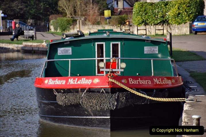 2020 02 26 The Kennet & Avon Canal Bradford on  Avon Wiltshire (24) 020