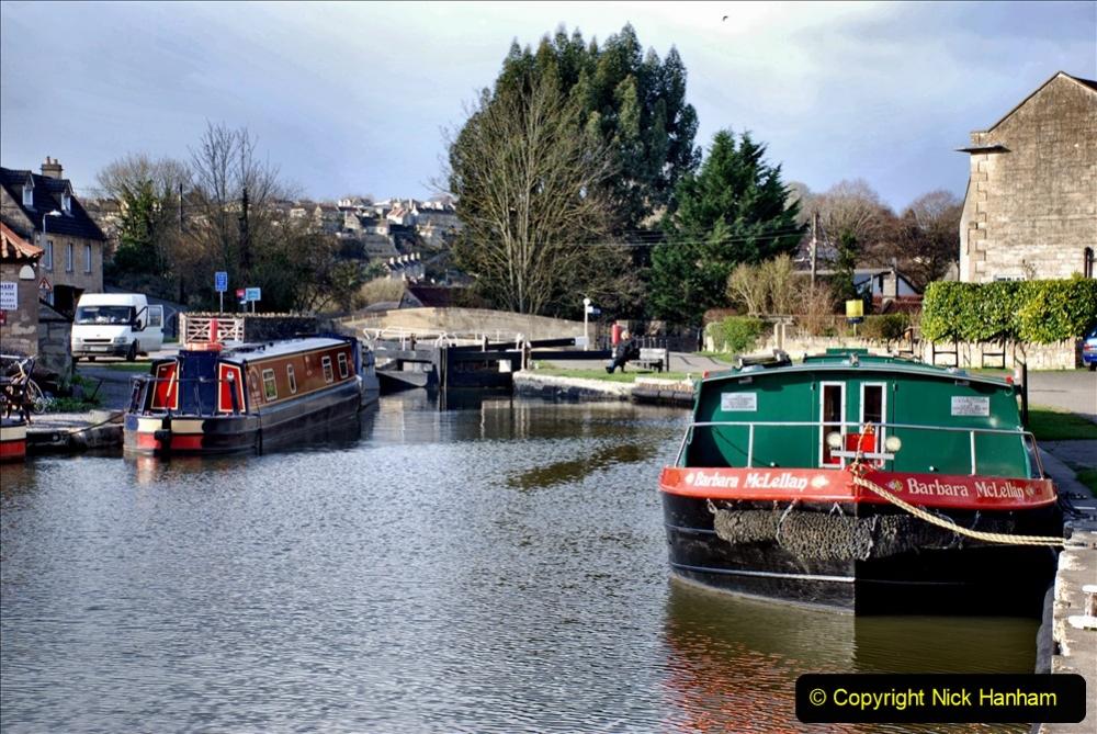 2020 02 26 The Kennet & Avon Canal Bradford on  Avon Wiltshire (25) 020