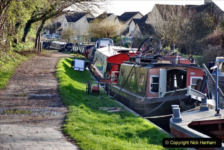2020 02 26 The Kennet & Avon Canal Bradford on  Avon Wiltshire (26) 020