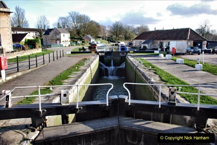 2020 02 26 The Kennet & Avon Canal Bradford on  Avon Wiltshire (3) 020