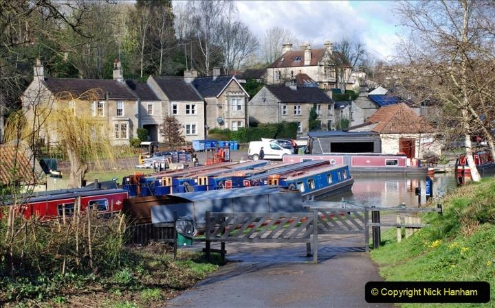 2020 02 26 The Kennet & Avon Canal Bradford on  Avon Wiltshire (31) 020