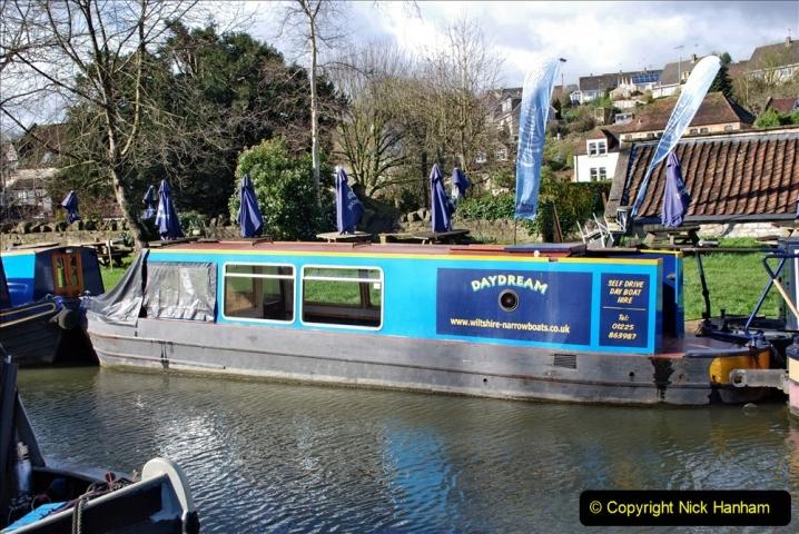 2020 02 26 The Kennet & Avon Canal Bradford on  Avon Wiltshire (32) 020