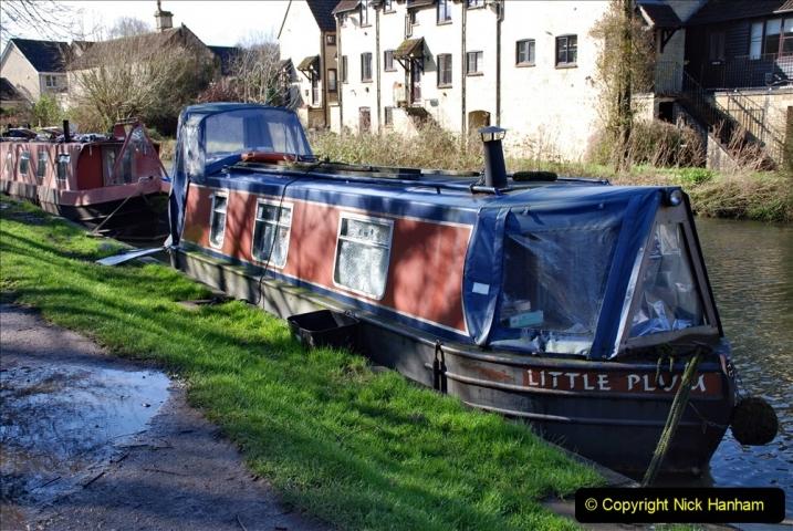 2020 02 26 The Kennet & Avon Canal Bradford on  Avon Wiltshire (33) 020