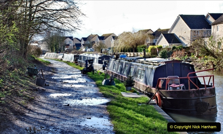 2020 02 26 The Kennet & Avon Canal Bradford on  Avon Wiltshire (34) 020