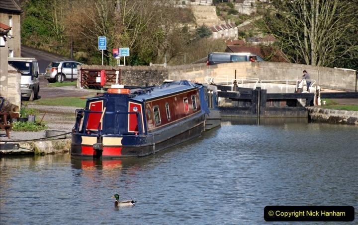 2020 02 26 The Kennet & Avon Canal Bradford on  Avon Wiltshire (37) 020