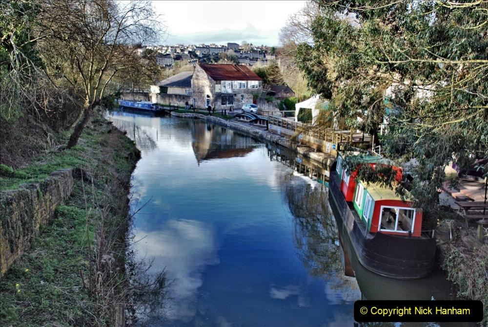 2020 02 26 The Kennet & Avon Canal Bradford on  Avon Wiltshire (4) 020