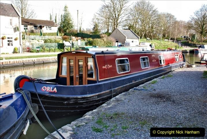 2020 02 26 The Kennet & Avon Canal Bradford on  Avon Wiltshire (6) 020