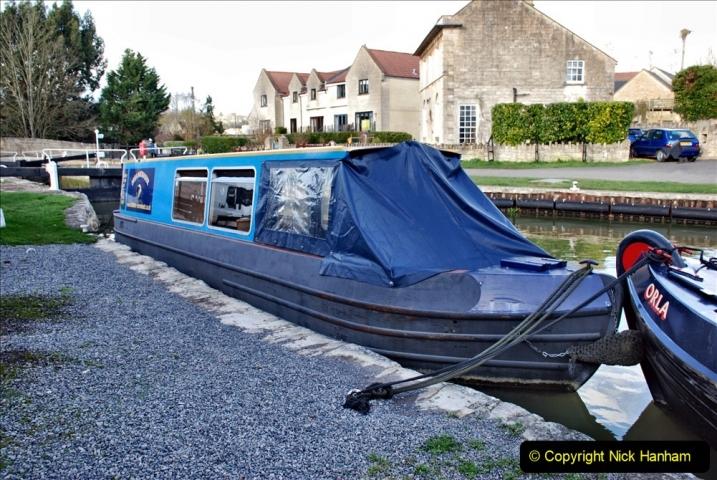 2020 02 26 The Kennet & Avon Canal Bradford on  Avon Wiltshire (7) 020