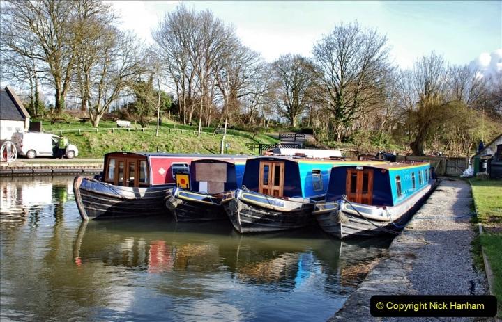 2020 02 26 The Kennet & Avon Canal Bradford on  Avon Wiltshire (9) 020