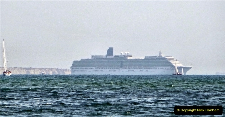 2020-06-23 P&O Aurora (At anchor) Poole Bay, Dorset. (1) 108