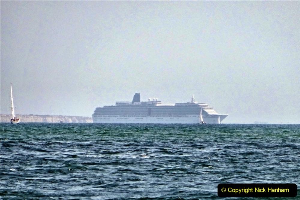 2020-07-03 Poole Bay, Dorset. (10) P&O Arcadia. 118