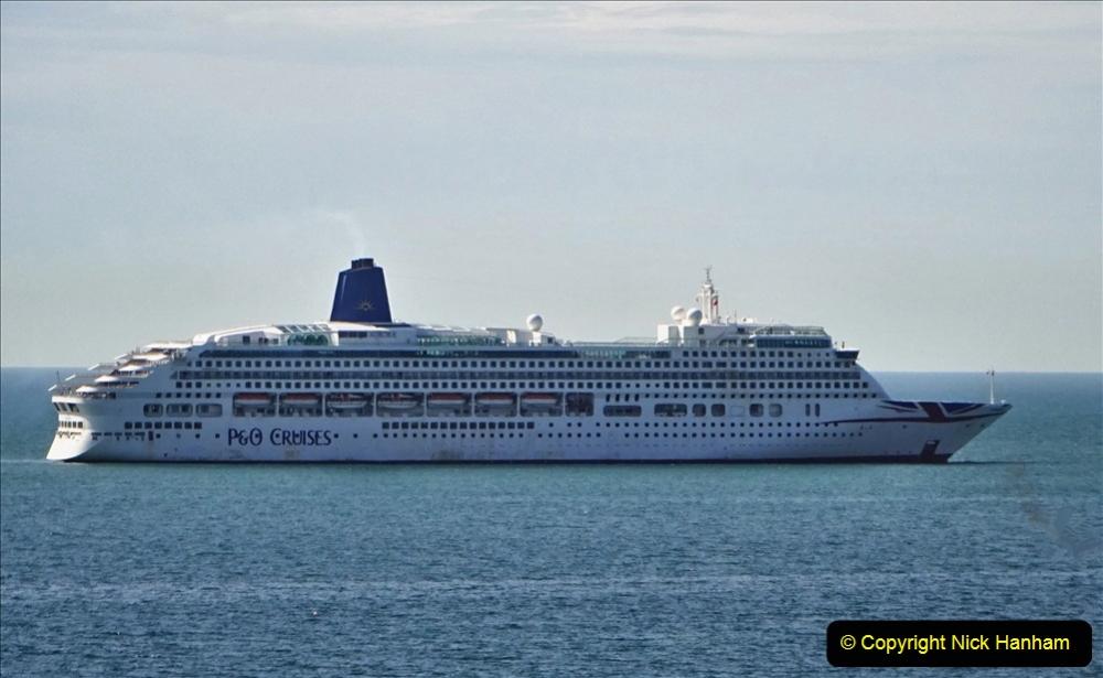 2020-07-03 Poole Bay, Dorset. (4) P&O Aurora. 112