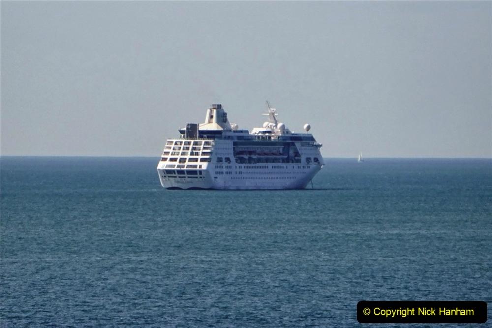 2020-07-03 Poole Bay, Dorset. (5) Royal Caribbean Enchantment of the Seas. 113