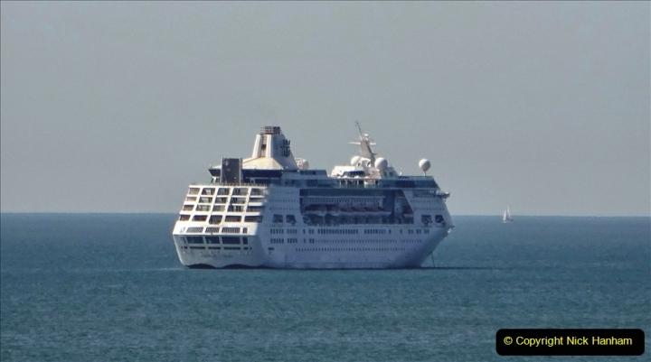 2020-07-03 Poole Bay, Dorset. (6) Royal Caribbean Enchantment of the Seas. 114