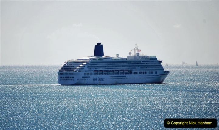 2020-07-29 Poole Bay, Dorset. (1) P&O Aurora. 131