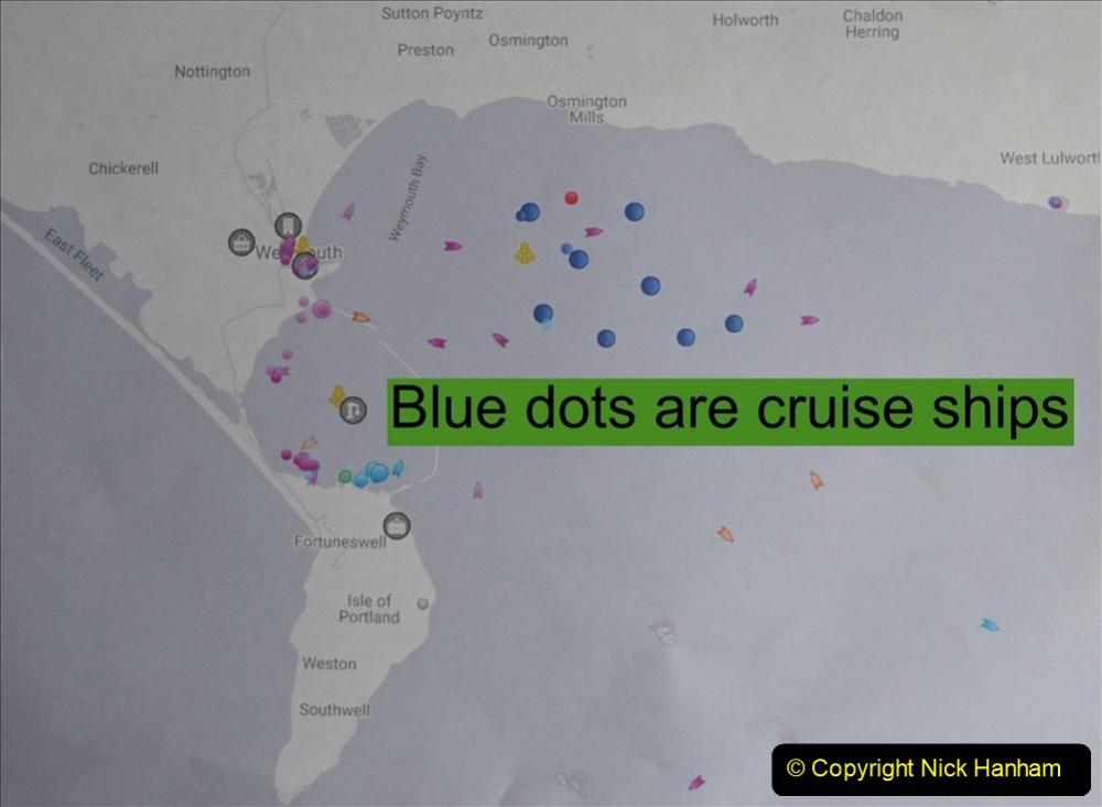 2020-08-10 Cruise ships in Weymouth Bay. (1) 134