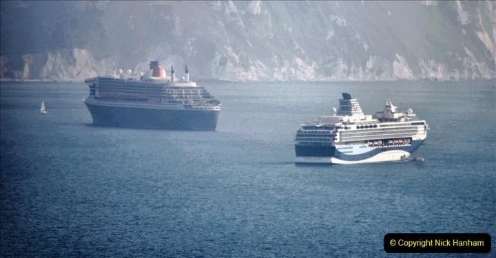 2020-08-10 Cruise ships in Weymouth Bay. (16) 149