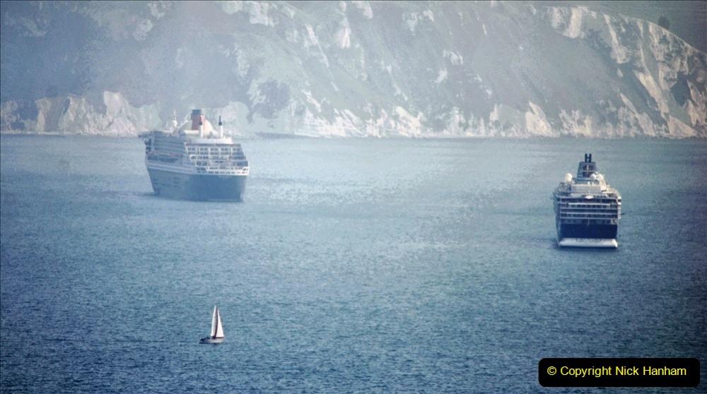 2020-08-10 Cruise ships in Weymouth Bay. (17) 150