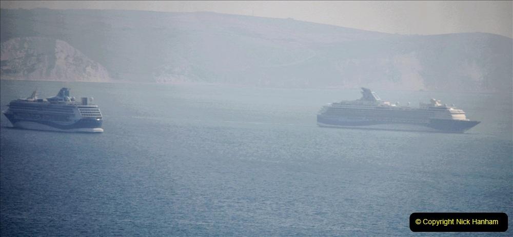 2020-08-10 Cruise ships in Weymouth Bay. (22) 155