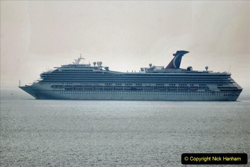 2020-08-10 Cruise ships in Weymouth Bay. (28) Carnival Valor. 160