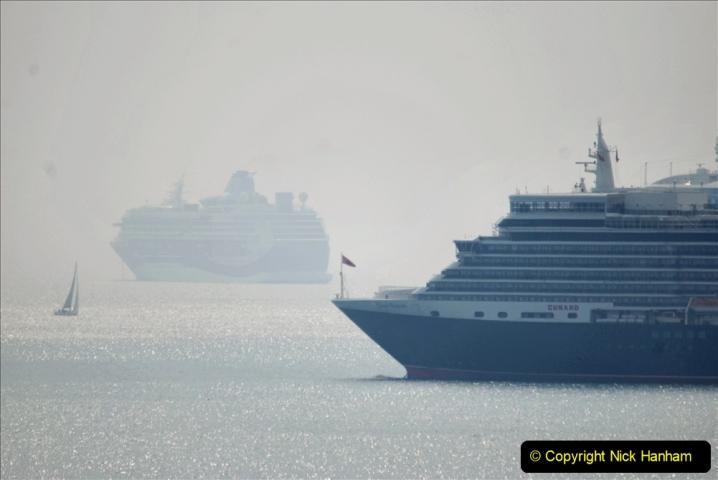 2020-08-10 Cruise ships in Weymouth Bay. (32) 164