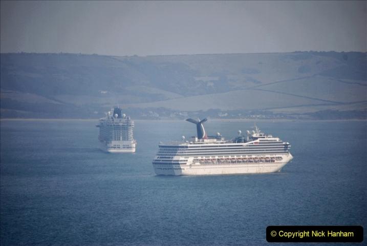 2020-08-10 Cruise ships in Weymouth Bay. (6) 139