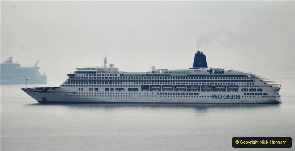 2020-08-13 Poole Bay, Dorset. (1) P&O Aurora.168