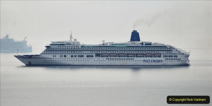2020-08-13 Poole Bay, Dorset. (5) P&O Aurora.172