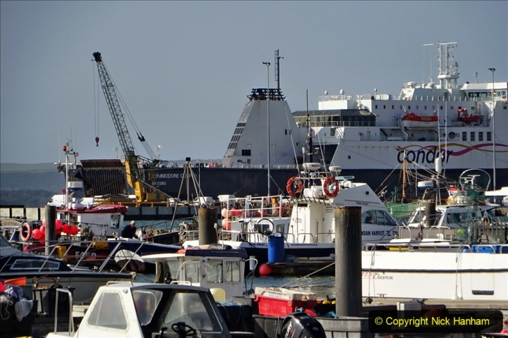 2020-09-17 Poole Quay, Poole, Dorset. (10) Condor Commodore Clipper. 186