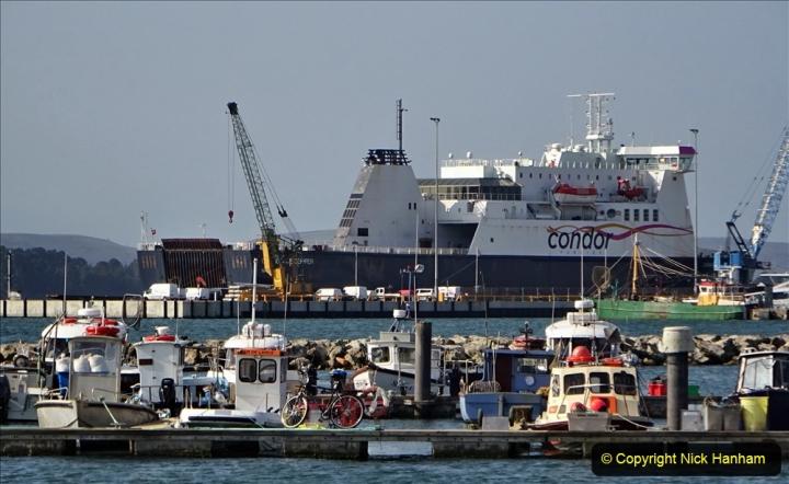 2020-09-17 Poole Quay, Poole, Dorset. (11) Condor Commodore Clipper. 187