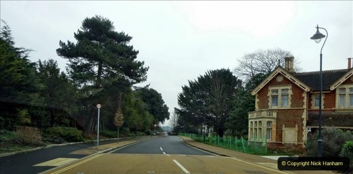 2021-02-01 Covid 19 Walk - Poole Park completed refurbishment. (1) 01