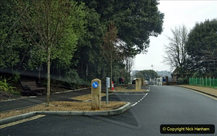 2021-02-01 Covid 19 Walk - Poole Park completed refurbishment. (2) 02