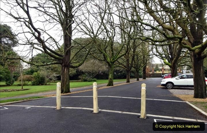 2021-02-01 Covid 19 Walk - Poole Park completed refurbishment. (3) 03