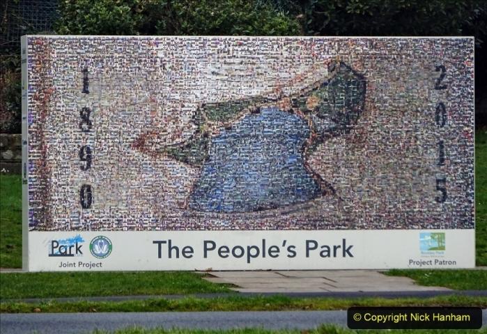 2021-02-01 Covid 19 Walk - Poole Park completed refurbishment. (39) 39