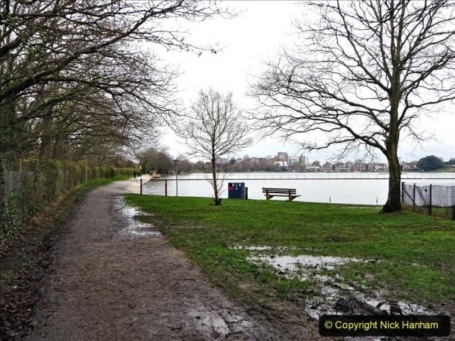 2021-02-01 Covid 19 Walk - Poole Park completed refurbishment. (9) 09