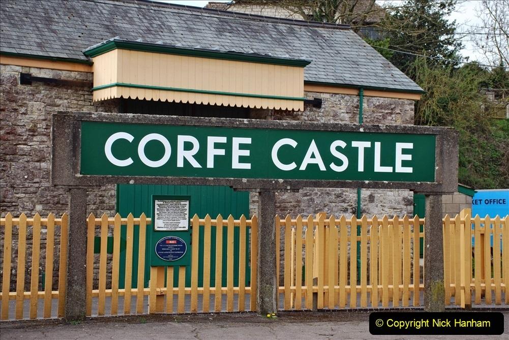 2021-04-03 SR Staff training day. (114) Corfe Castle. 114